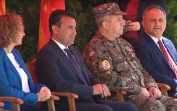 Άναψε φωτιές ο Ζάεφ με αναφορές στον «μακεδονικό» στρατό