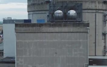 Η Greenpeace έριξε drone σε πυρηνικό σταθμό... γιατί μπορεί