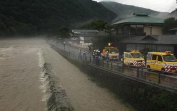 Στους 49 οι νεκροί από τις φονικές καταιγίδες στην Ιαπωνία