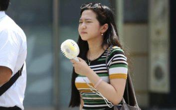 Στην Ιαπωνία οι αρχές προειδοποιούν τους πολίτες για τον καύσωνα