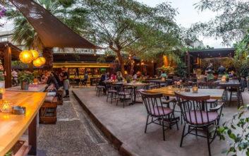 Καλοκαιρινές γευστικές απολαύσεις στον κήπο του Hide & Seek