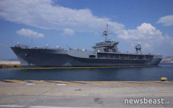 Στον Πειραιά η ναυαρχίδα του 6ου στόλου των ΗΠΑ