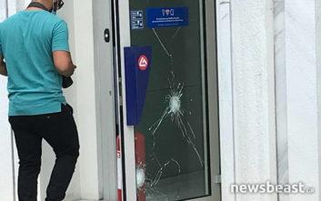 Ένοπλη ληστεία με πυροβολισμούς σε τράπεζα στο Χαϊδάρι