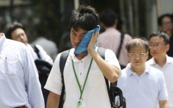 Θερμοκρασία ρεκόρ στην Ιαπωνία με 41,1 βαθμούς Κελσίου και 30 νεκρούς