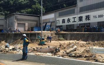 Στους 156 οι νεκροί από τις πλημμύρες στην Ιαπωνία