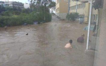 Πλημμύρισε το νοσοκομείο «Σωτηρία»