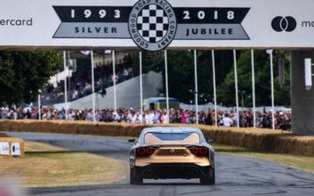 Το Nissan GT-R50 Italdesign πρωταγωνιστής σε φεστιβάλ ταχύτητας