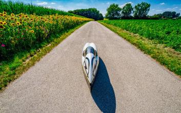Εικοσιτετράωρο ρεκόρ απόστασης με το τρίτροχο Velomobile