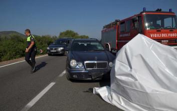 Καρέ καρέ το τροχαίο του Τζορτζ Κλούνεϊ στη Σαρδηνία