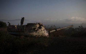 Ο συριακός στρατός κατέλαβε σημαντικό λόφο κοντά στα Υψώματα του Γκολάν