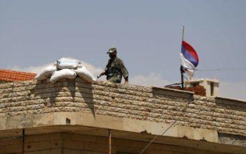Συμφωνία για παράδοση ανταρτών σε περιοχή της Συρίας