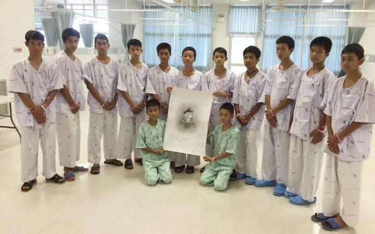 Σήμερα η πρώτη δημόσια εμφάνιση των παιδιών που διασώθηκαν από το σπήλαιο στην Ταϊλάνδη