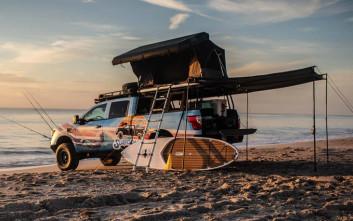 Το Nissan Titan Surfcamp είναι το απόλυτο καλοκαιρινό όχημα