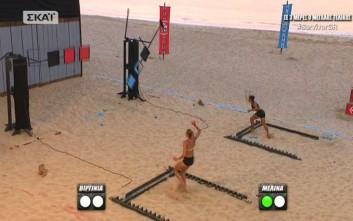 Μελίνα και Ηλίας κέρδισαν τα δυο «χρυσά» εισιτήρια για τον ημιτελικό του Survivor 2