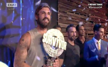 Μεγάλος νικητής του Survivor 2 ο Ηλίας Γκότσης