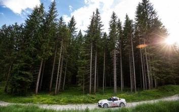 Στο βάθρο τo Abarth 124 Rally