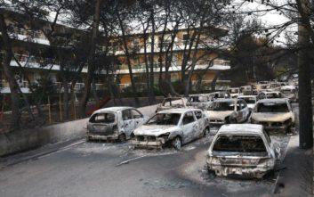«Κόκκινα» εκατοντάδες σπίτια μετά τις φωτιές στην Αττική