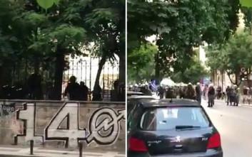 Επεισόδια έξω από κατάληψη στη Θεσσαλονίκη