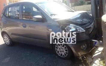 Σοβαρός τραυματισμός πεζού από σύγκρουση δύο οχημάτων
