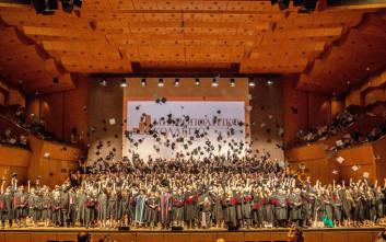 Μεγαλειώδεις Τελετές Αποφοίτησης από το Μητροπολιτικό Κολλέγιο σε Αθήνα και Θεσσαλονίκη