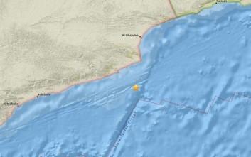 Σεισμός στον Κόλπο του Άντεν