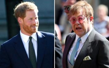 Πρίγκιπας Χάρι και Έλτον Τζον μαζί κατά του AIDS