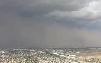 Καταιγίδα σκόνης έπληξε την Αριζόνα