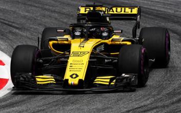 Σαν στο σπίτι της η Renault στο βρετανικό Grand Prix