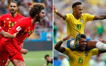 Στην τελική ευθεία το Παγκόσμιο Κύπελλο 2018 με τους 4 μεγάλους προημιτελικούς