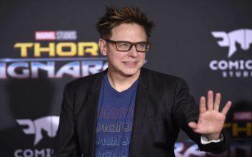 Απολύθηκε ο σκηνοθέτης των ταινιών Guardians of the Galaxy