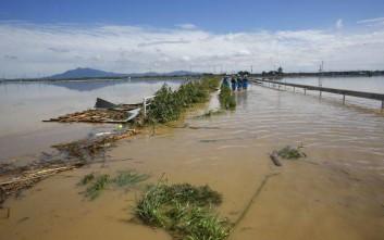 Τουλάχιστον 38 νεκροί από τις καταρρακτώδεις βροχές στην Ιαπωνία