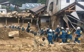Θρήνος δίχως τέλος στην Ιαπωνία από την πρωτοφανή κακοκαιρία
