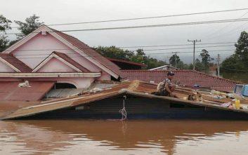 Τραγωδία από την κατάρρευση υδροηλεκτρικού φράγματος στο Λάος