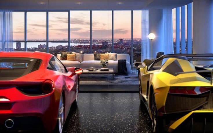 Η πολυκατοικία όπου μπορείς να παρκάρεις το αυτοκίνητό σου στο διαμέρισμα