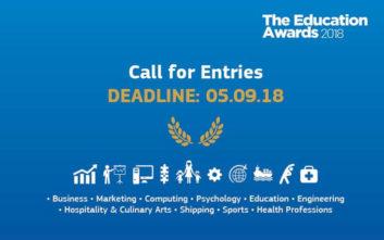 Education Awards 2018 από το Mediterranean College