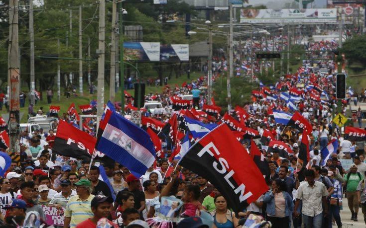 Αιματοβαμμένες συγκρούσεις πολιτών με την αστυνομία στη Νικαράγουα