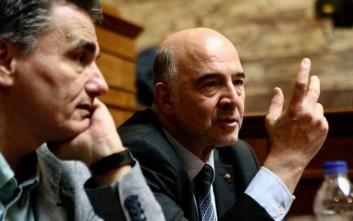 Μοσκοβισί: Τώρα η Ελλάδα είναι ελεύθερη να καθορίσει την πολιτική της