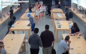 Σε λιγότερα από 30 δευτερόλεπτα έκλεψαν προϊόντα αξίας 27.000 δολαρίων