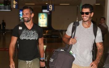 Στην Αθήνα έφτασαν ο Νικόλας Αγόρου και ο Πάνος Θεοδώρου