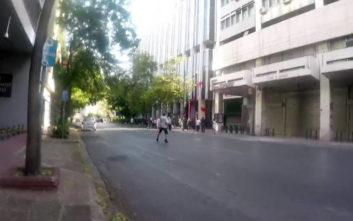 Βίντεο από την επίθεση του Ρουβίκωνα στο υπουργείο Εξωτερικών