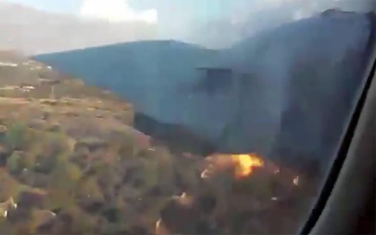 Τα τρομακτικά δευτερόλεπτα πριν τη συντριβή μέσα από το αεροσκάφος