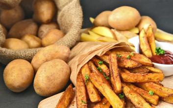 Κατέρριψε το ρεκόρ Γκίνες σερβιρίσματος τηγανητής πατάτας η Νάξος