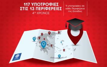 117 Υποτροφίες Σπουδών στις 13 Περιφέρειες της Ελλάδας από το IEK ΑΛΦΑ και το Mediterranean College