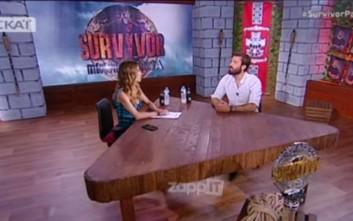 Το «ευχαριστώ» του νικητή του Survivor Ηλία Γκότση στη Μελίνα