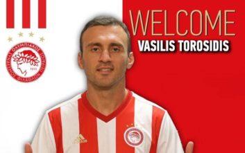 Ο Τοροσίδης επιστρέφει στον Ολυμπιακό μετά από πέντε χρόνια