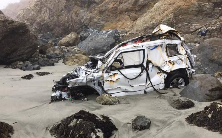 Έπεσε από γκρεμό με το αυτοκίνητό της και πέρασε 7 ημέρες σε ερημική παραλία
