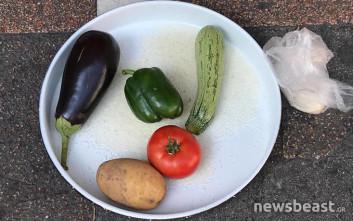 Με λαχανικά για γεμιστά έξω από το υπ. Εργασίας οι εργαζόμενοι στην Πρόνοια
