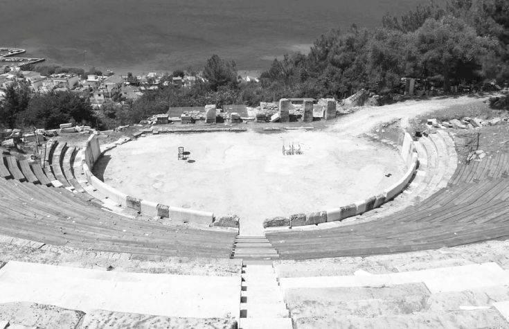Στη Β' φάση το Αρχαίο Θέατρο Θάσου