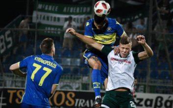 Αποκλείστηκε από το Europa League και ο Αστέρας Τρίπολης