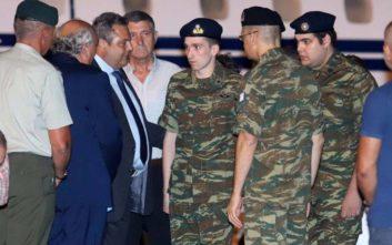 «Αναθέρμανση των ελληνοτουρκικών σχέσεων μετά την απελευθέρωση των στρατιωτικών»